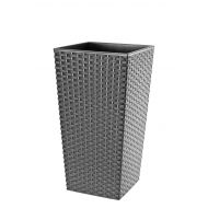 DONICZKA FINEZJA 25 CM RATTAN GRAFIT - thumb_52745_product_big.jpeg