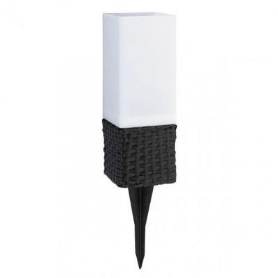 Lampa Solarna Rattan Brąz Rabalux Ogród Ozdoby Ogrodowe